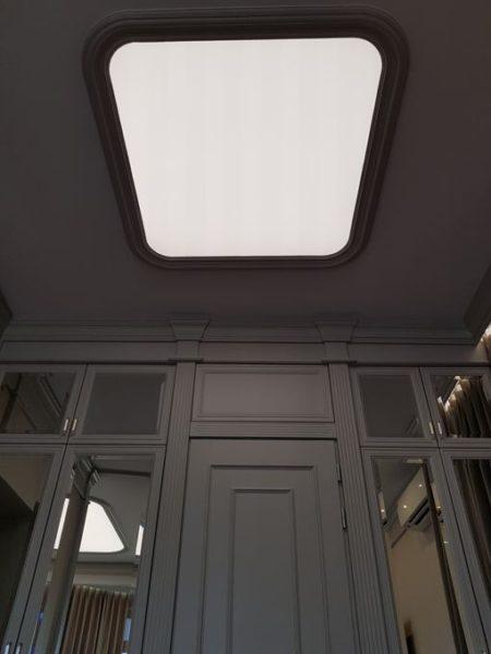 Световой потолок в Борзых в квартире