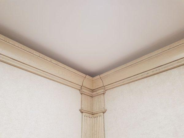 Монтаж светового потолка в Борзых в спальне