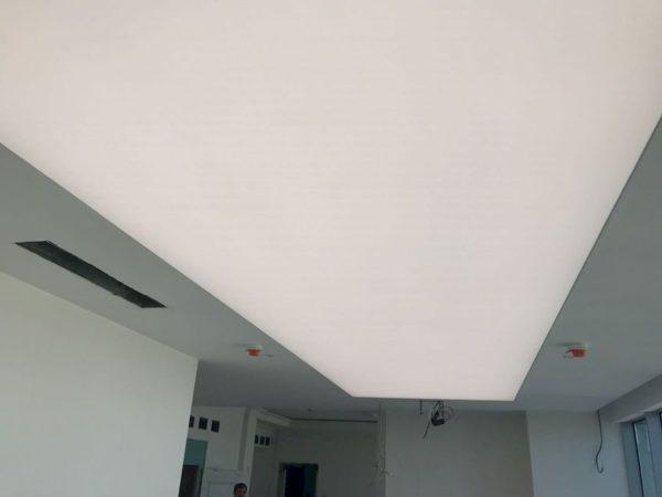Тканевый потолок в отеле Мариотт - узнать цены