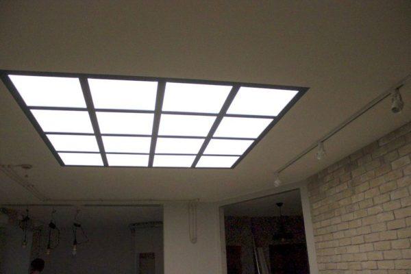 Световые потолки на ул. Заречной : фото