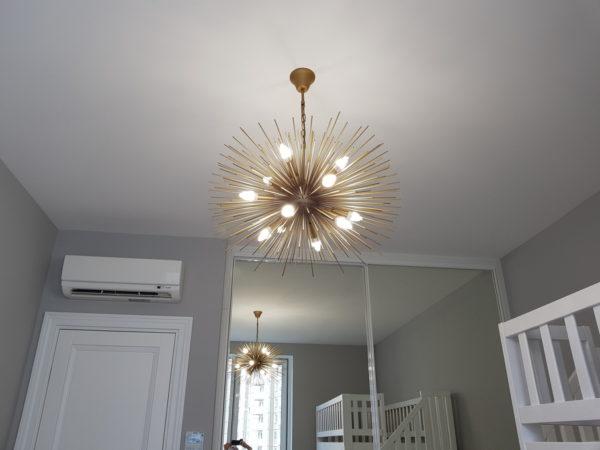 Светящийся потолок на ул. Давыдковская цены