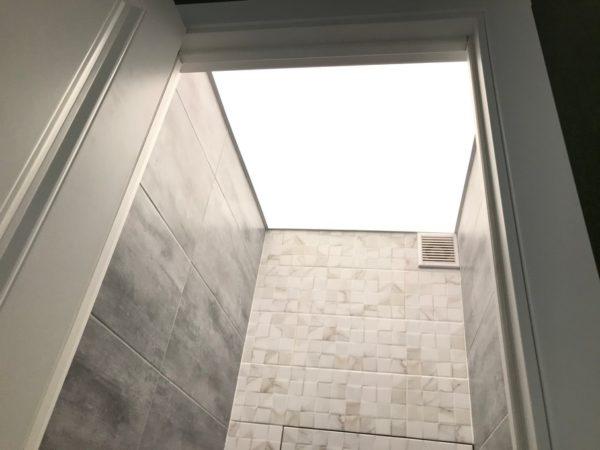 Световые потолки на ул. Академика Анохина в квартире