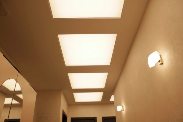 Световые потолки в Солнцево в квартире