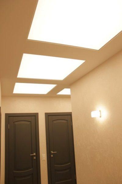 Световые потолки в Солнцево : фото