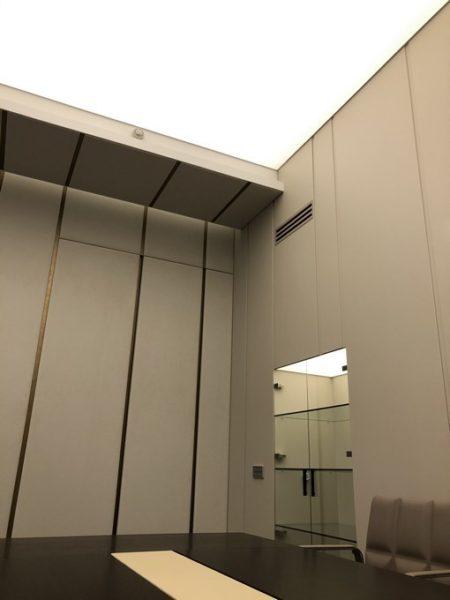 Световой потолок на ул. Гоголя в офисе