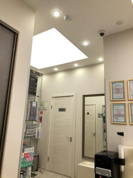 Световой потолок на ул. Покровка - узнать цены