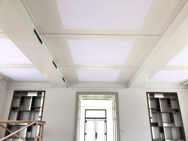 Световой потолок в п. Валуево : фото