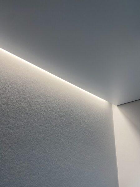 Монтаж светового потолка на Кахова 25 в зале