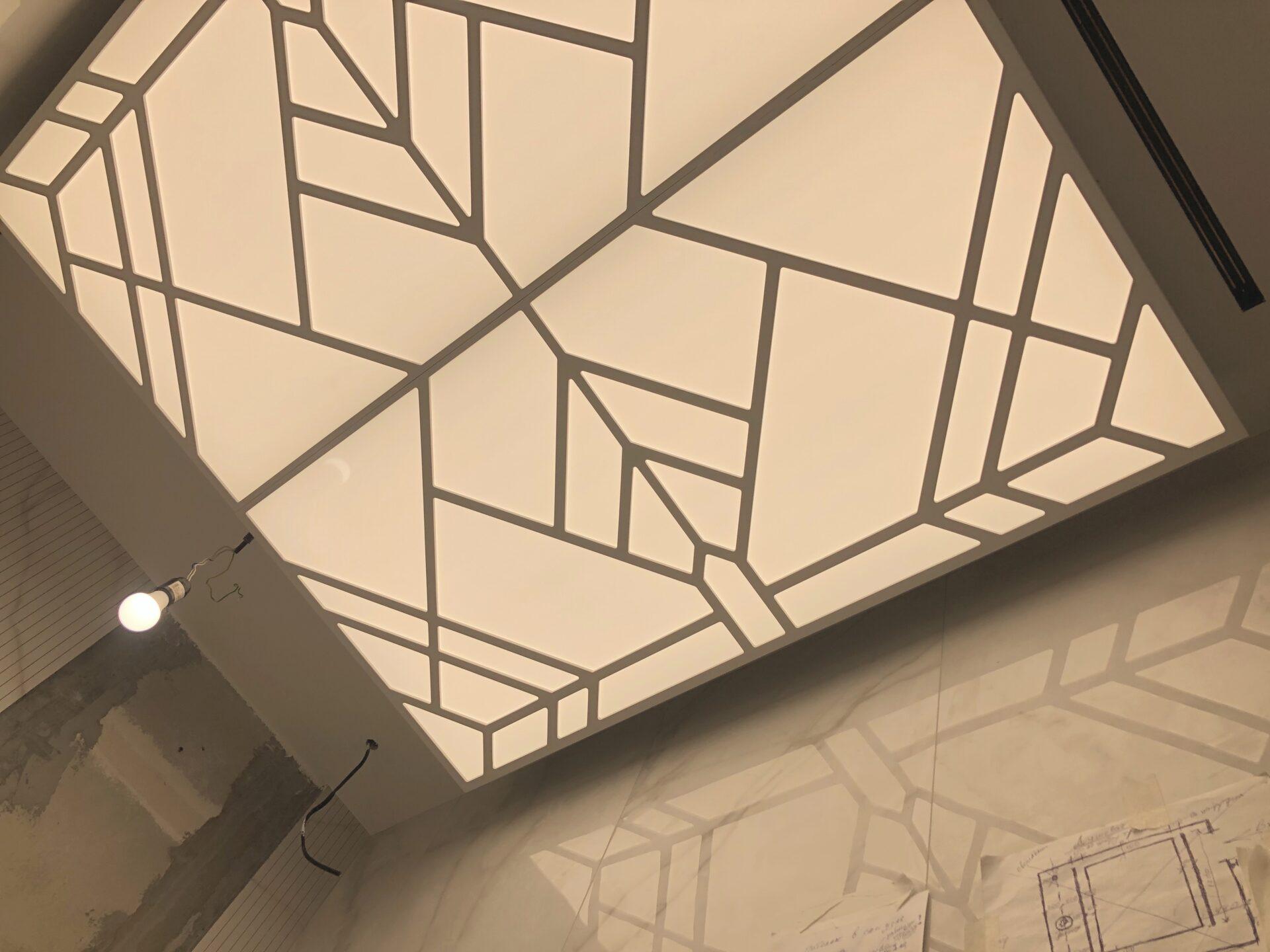 Световой потолок на Ленинском - узнать цены
