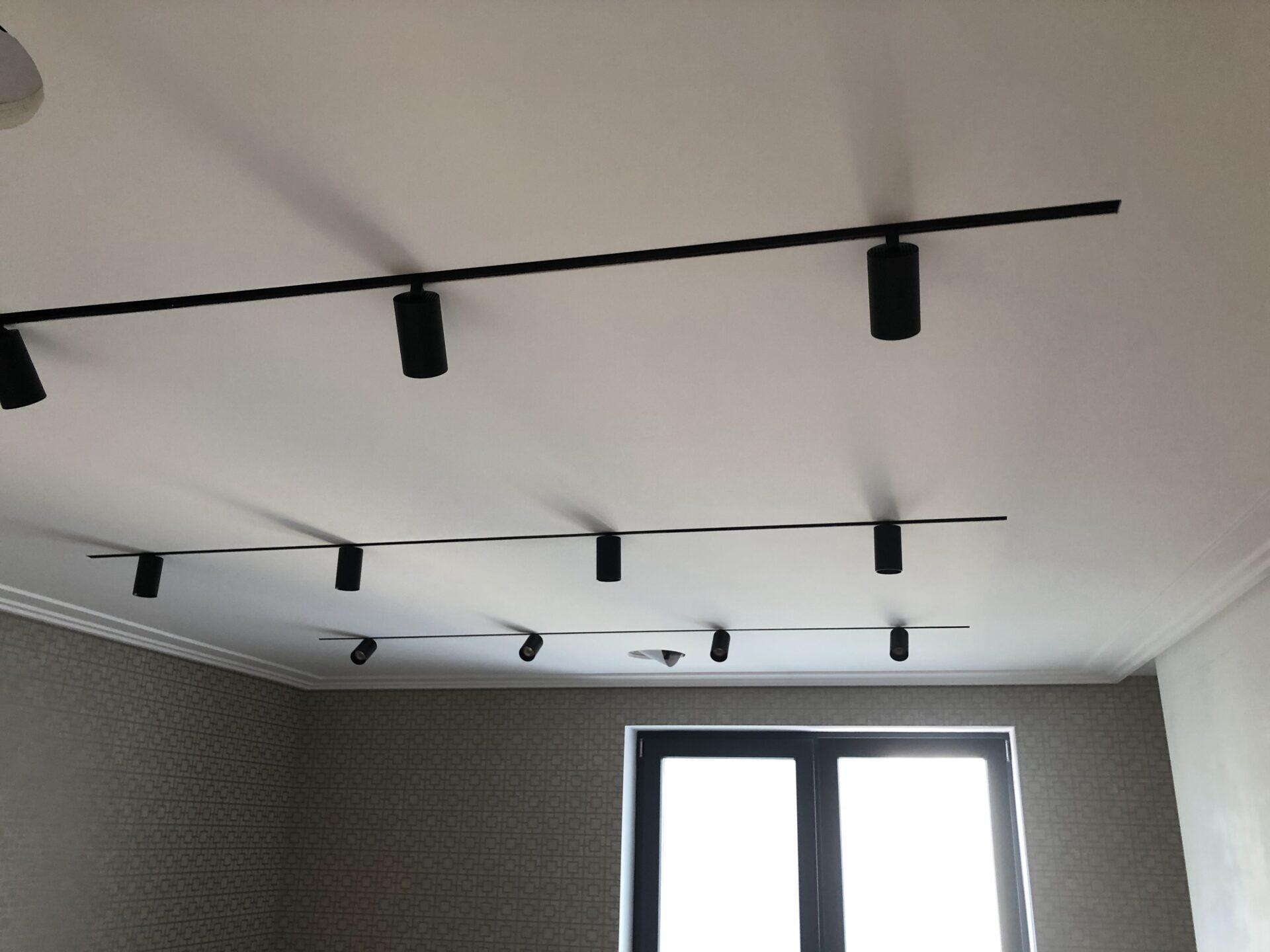 Световой потолок на Ленинском в квартире