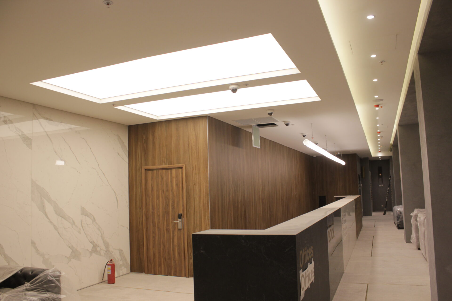 Световой потолок на Новом Арбате : фото