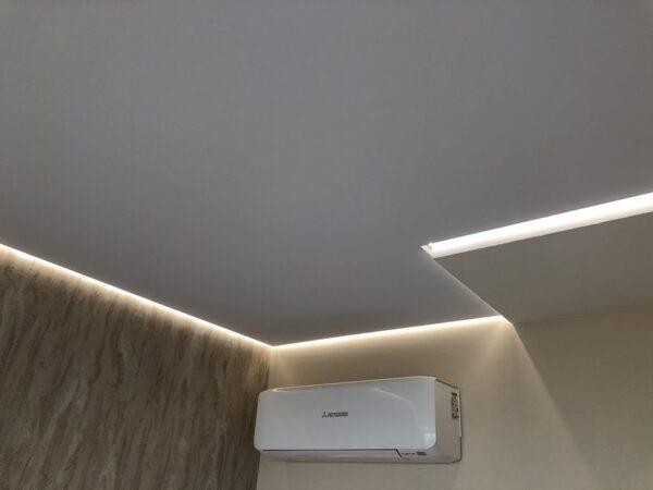 Световой потолок на Живописной